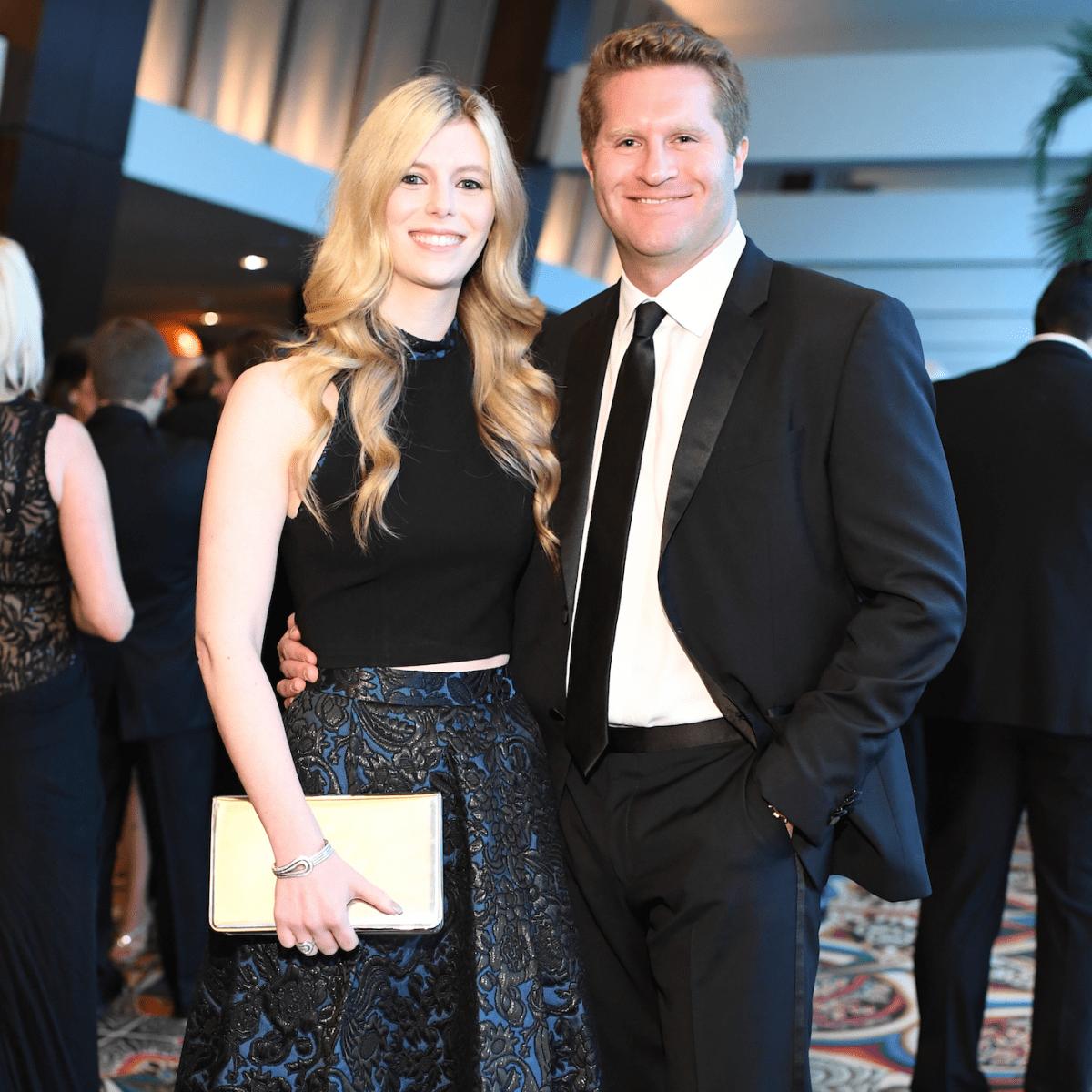 Kimberly Falgout, Evan Scheele at Memorial Hermann Gala