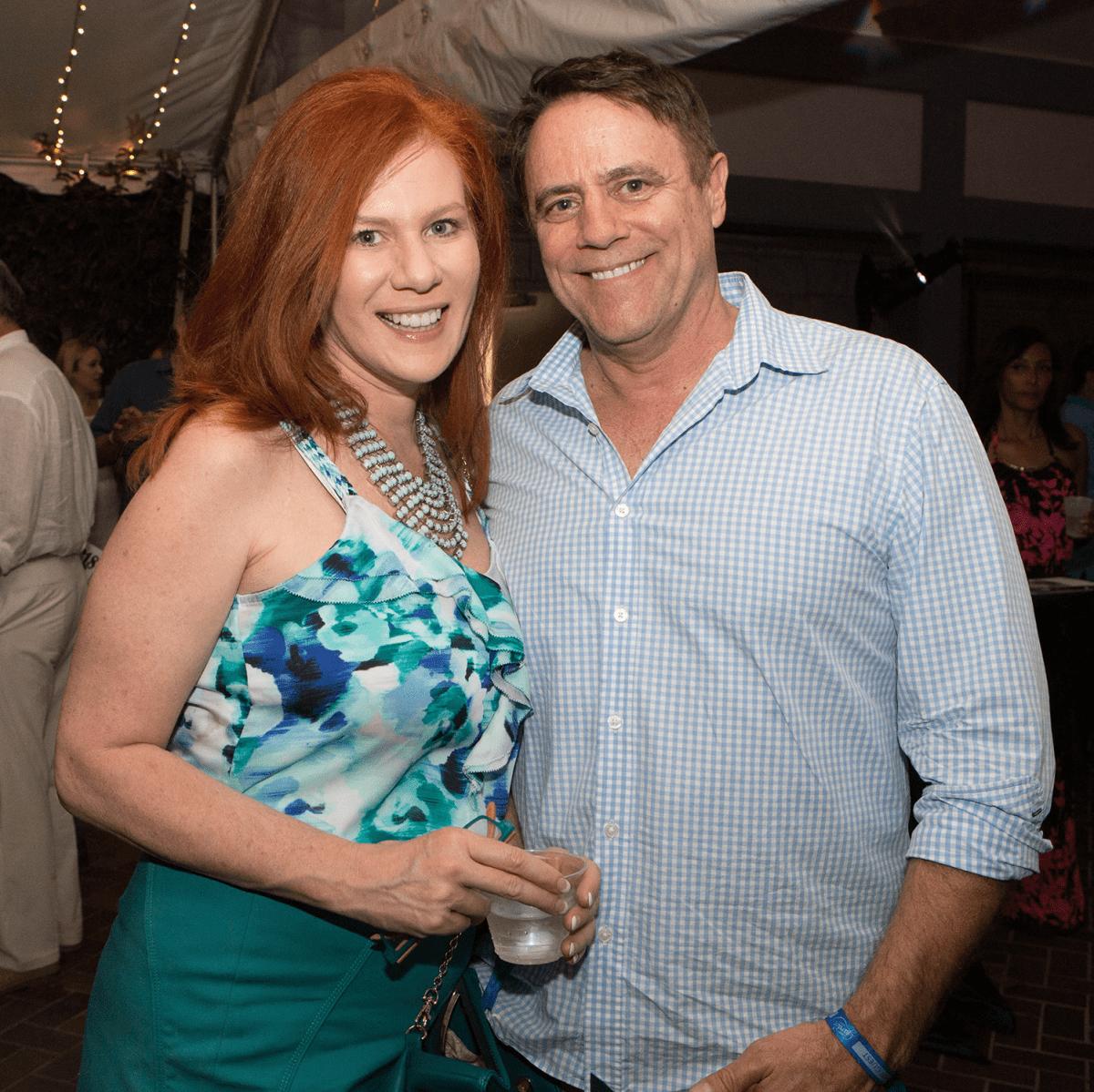 Umlauf Garden Party 2017 Dena Davis Mike Butson