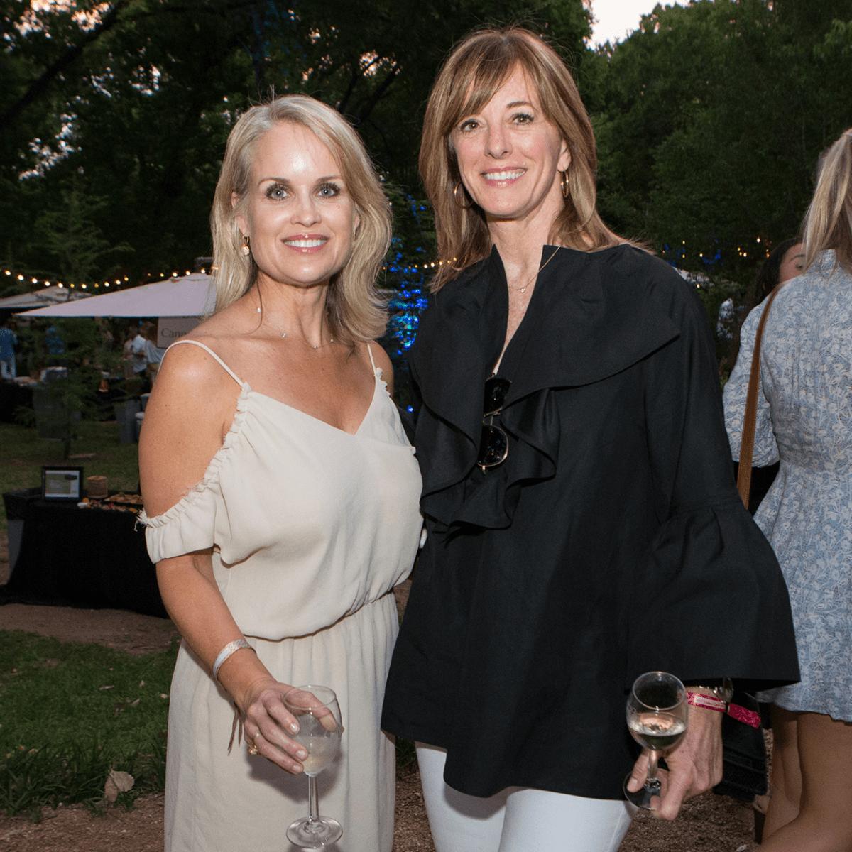 Umlauf Garden Party 2017 Dara Allen Diane Humphreys