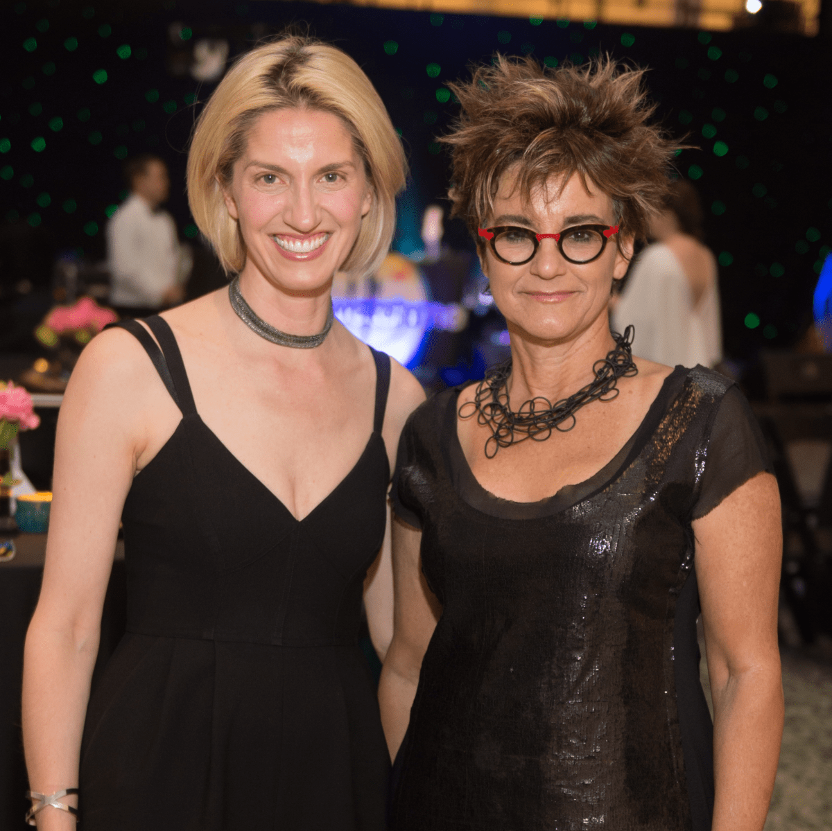 Chris Goins, Mari Carmen Ramirez at Glassell Benefit 2017
