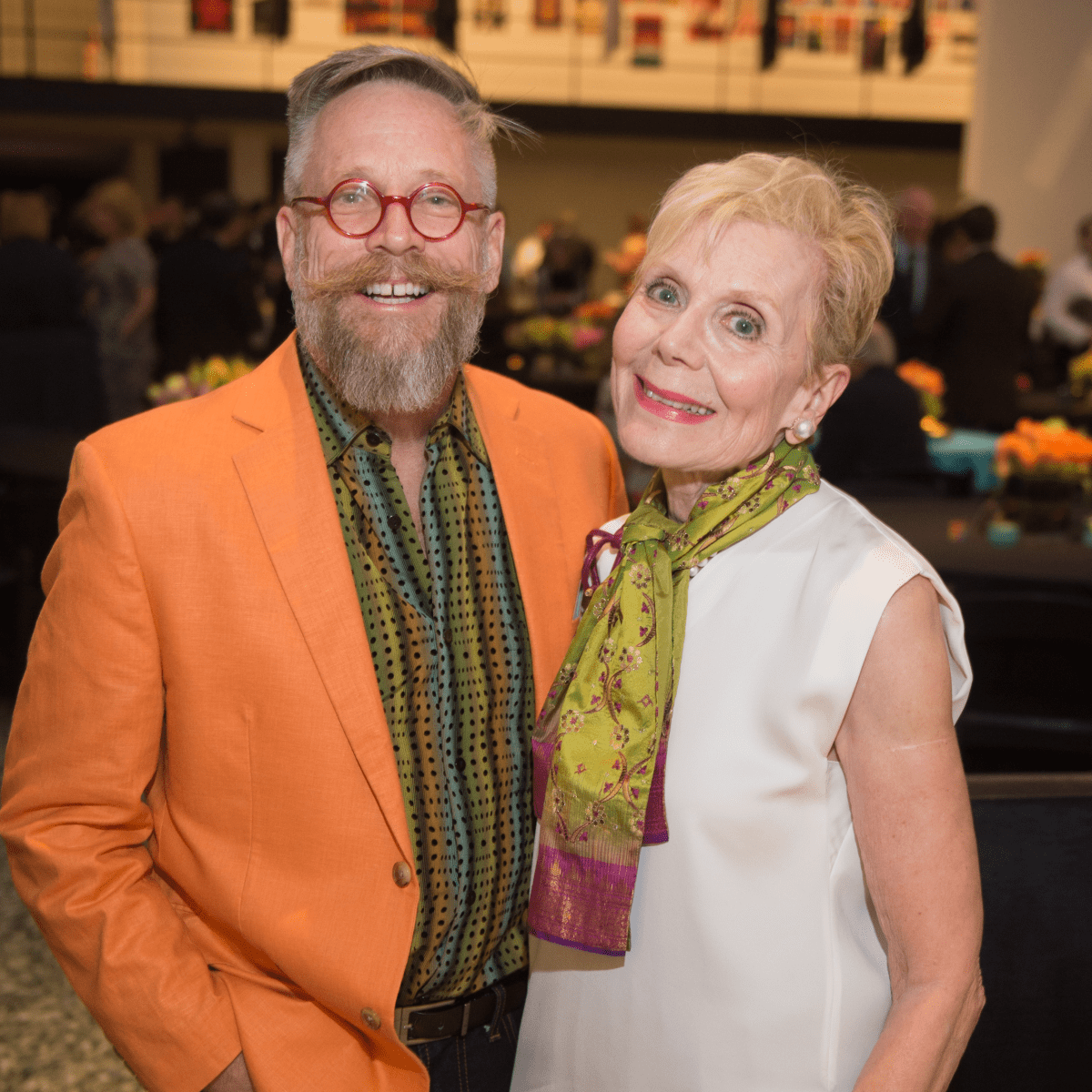Edward Lane McCartney, Nancy Bell at Glassell Benefit 2017