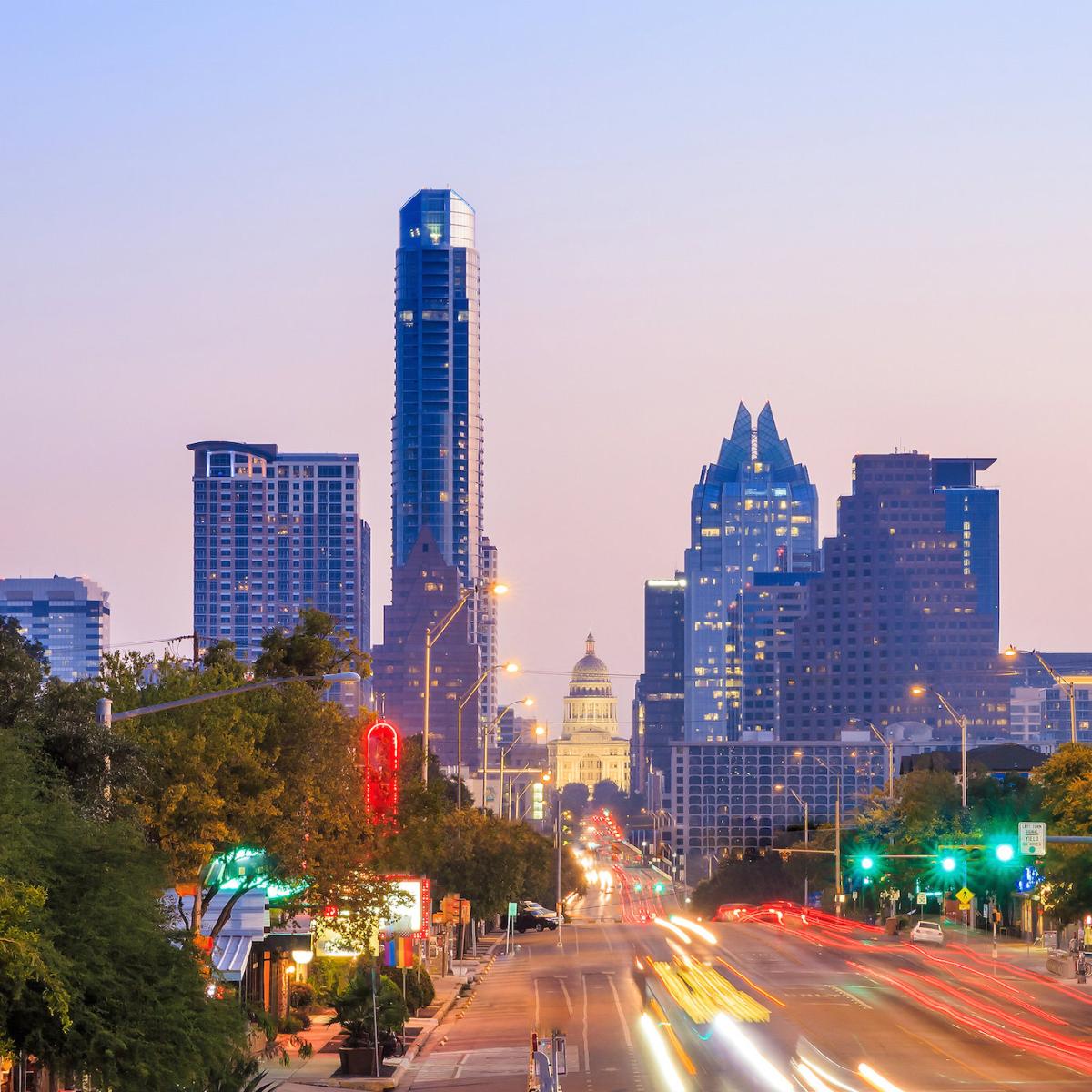Austin skyline