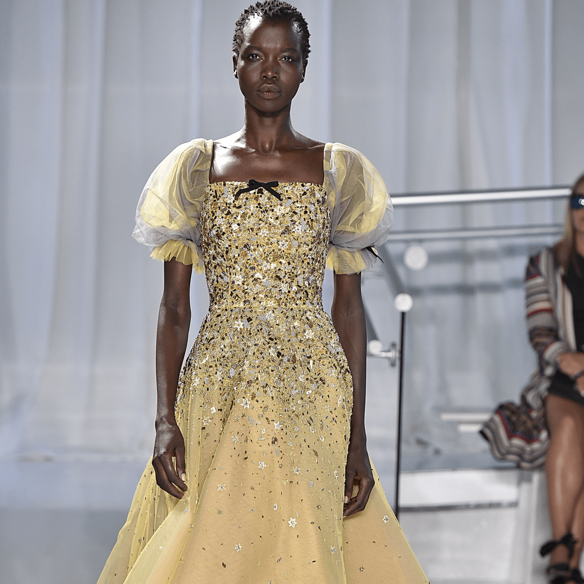 Reem Acra spring 2017 collection gown