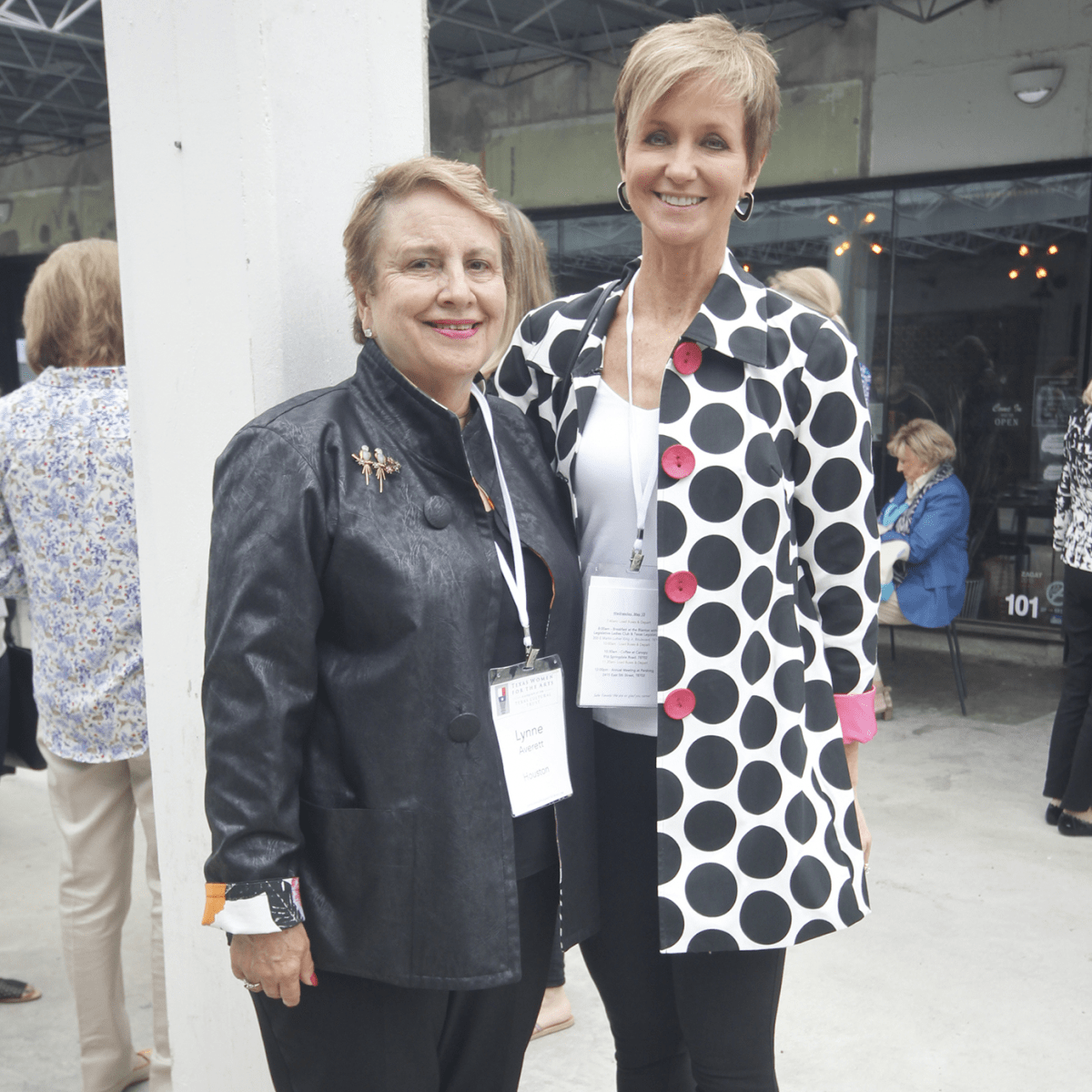 Texas Women for the Arts Meeting 2017 Lynne Averett Mona Knopp