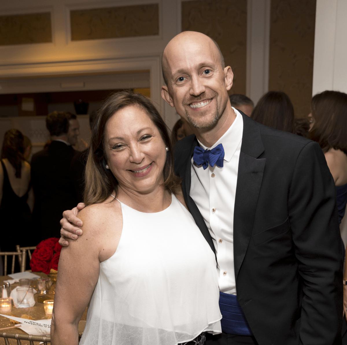 Leukemia & Lymphoma Society gala, 4/16, Vikki Evans, Mike Mahlstedt