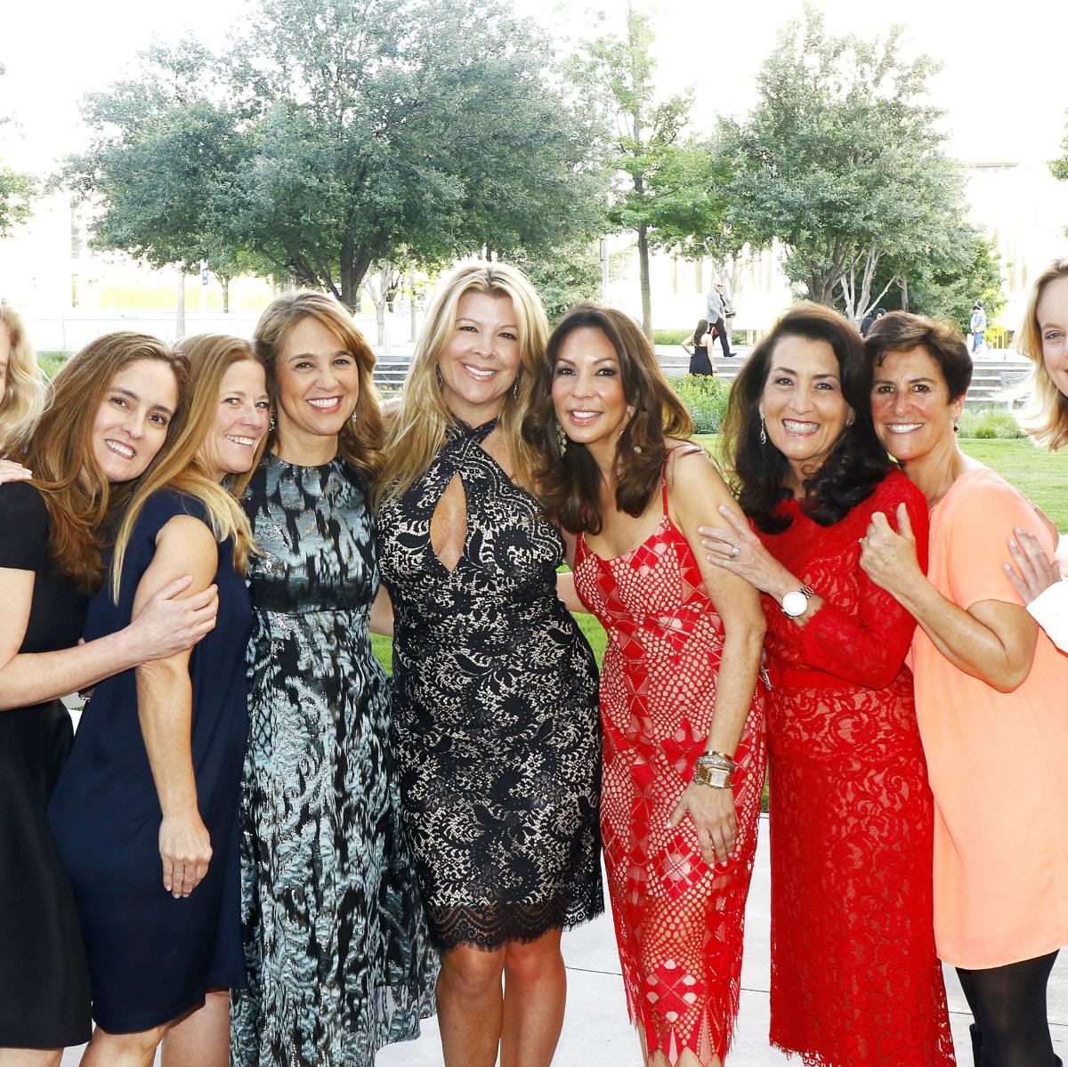 Michelle Moussa, Patricia Reyher, Eleanor Bond, Ann Mahowald, Deanna Mahowald, Cindy Pierce, Debra Hitzelberger, Melinda Johnson, Ann Wood