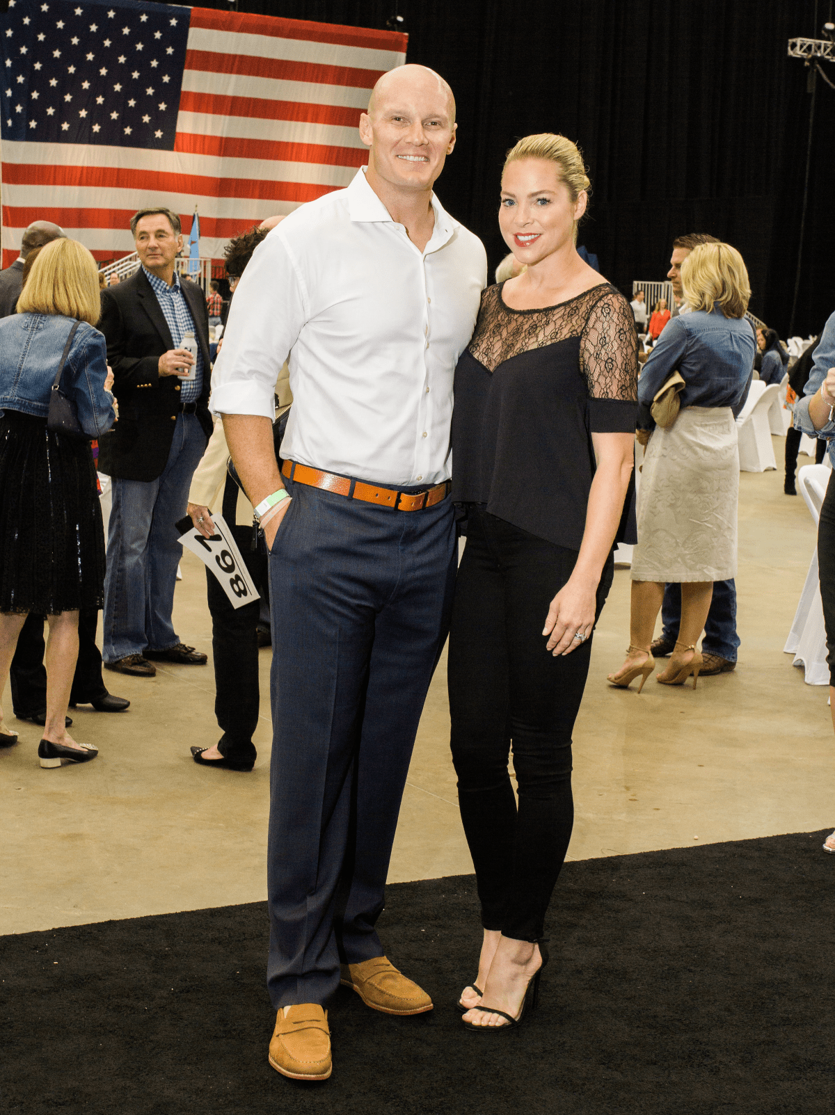 Houston, Impact A Hero Hall of Fame Gala, May 2016, Chris Myers, Jenny Myers