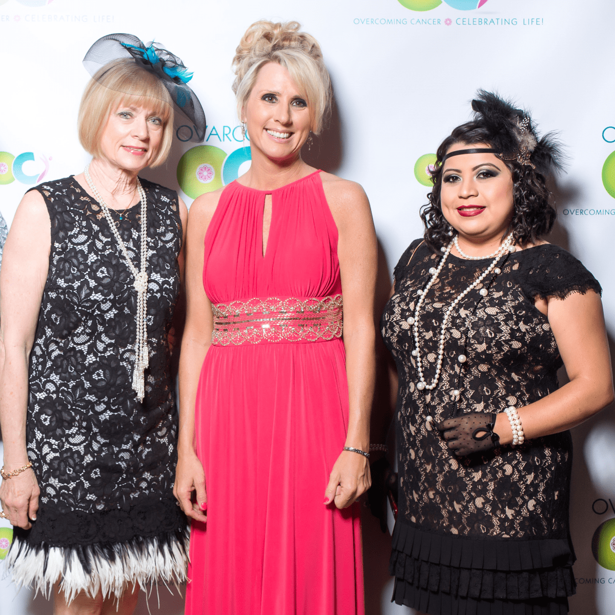 Houston, Ovarcome Gala, May 2016, Liz Stegall, Karen Shayne, Nancy Hernandez