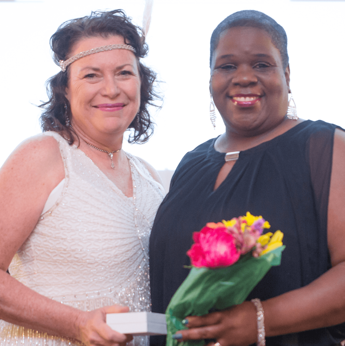 Houston, Ovarcome Gala, May 2016, Sandy Miller, Tonya Childress