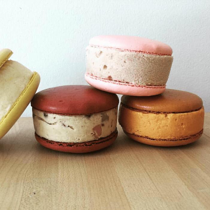 Joy Macaron ice cream sandwich