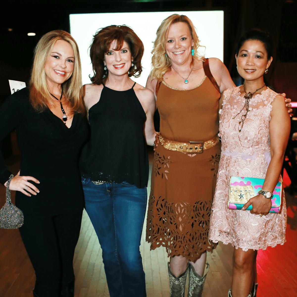 Aundrea Whalen, Natashia Mosier, Kristen Greenberg, Kunthear Mam-Douglas