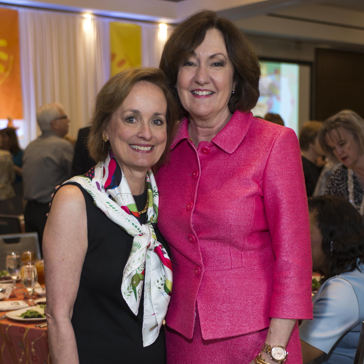 Houston, DePelchin Children's Center Families for Kids Luncheon, May 2016, Pam Brasseux, Liz Rigney