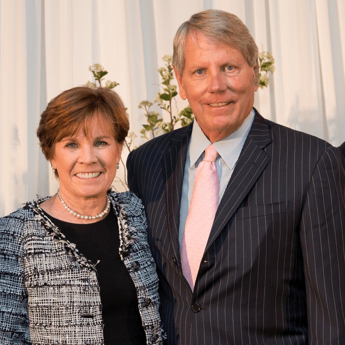 Houston, Menninger Clinic Annual Luncheon, May 2016, Maureen Hackett, Robert C. Wilson III