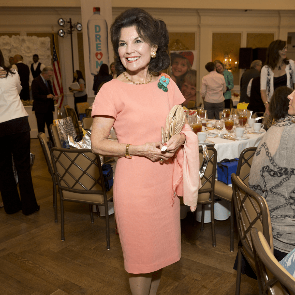 Houston, I Am Waters 5th Annual Supermodel Luncheon, May 2016, Linda McReynolds