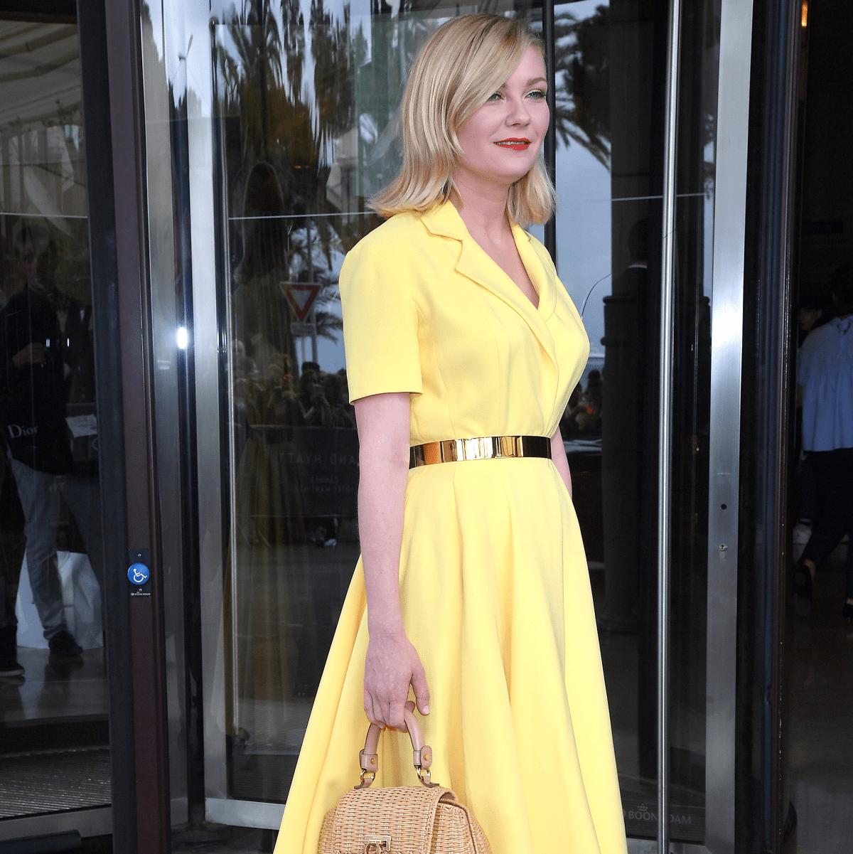 Kirsten Dunst in Dior at Cannes Film Festival