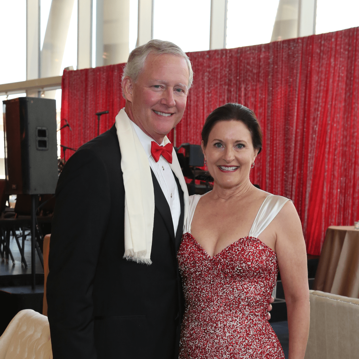 TUTS Gala 4/2016, Steve Burkett, Margaret Lombardo