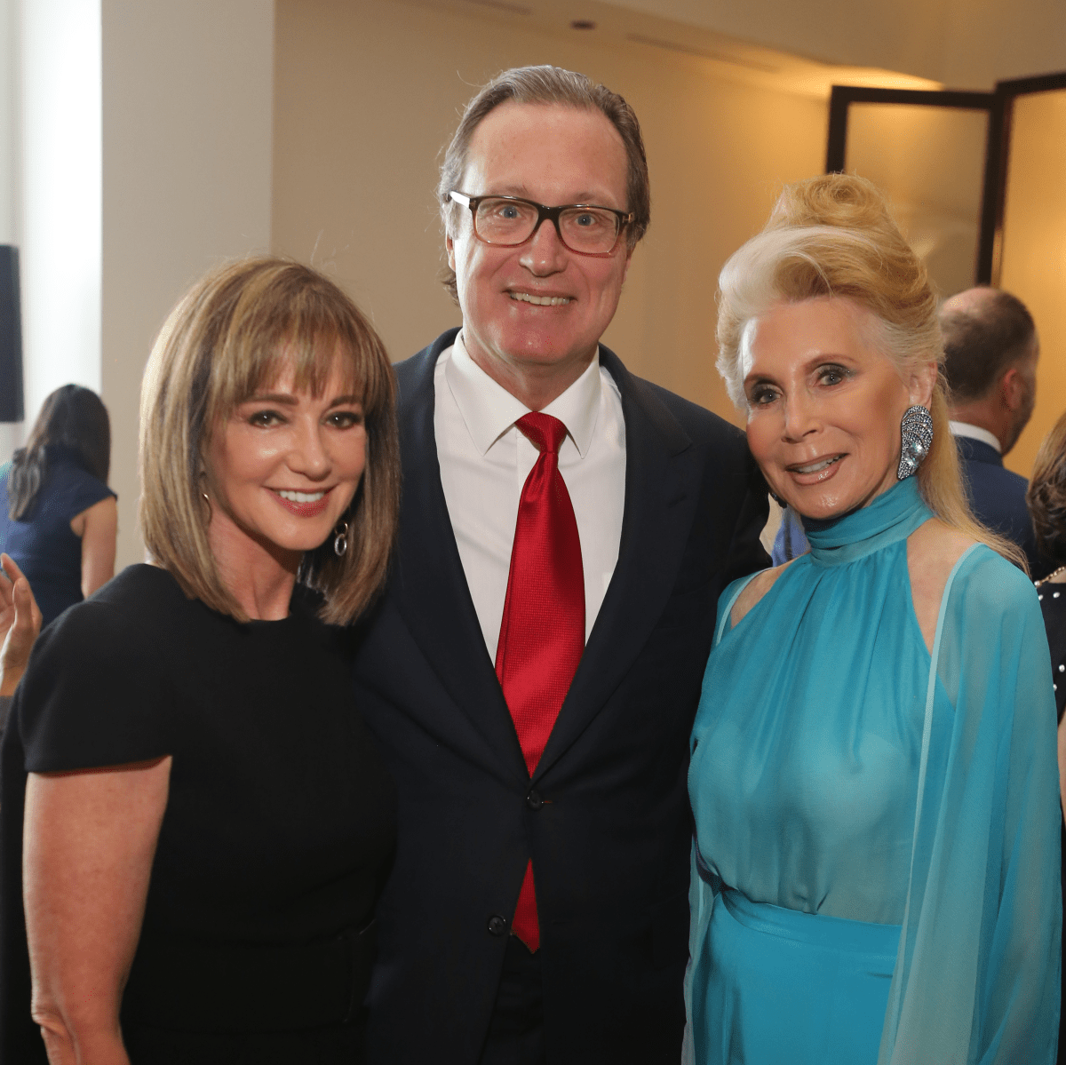 Saks MD Anderson benefit 4/16, Janet Gurwitch, Ron Franklin, Joan Schnitzer Levy