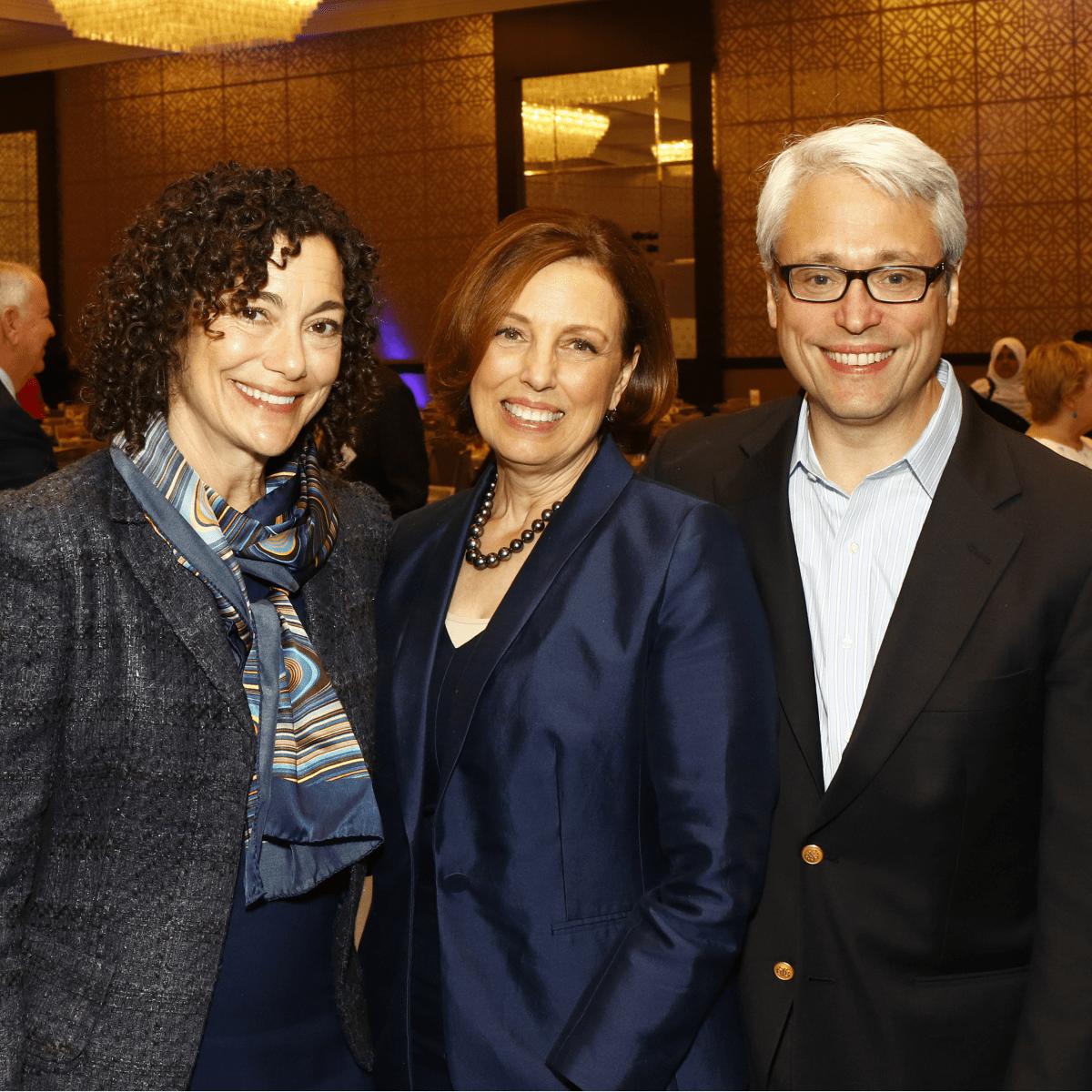 Katherine Krause, Rabbi Nancy Kasten, Rabbi David Stern