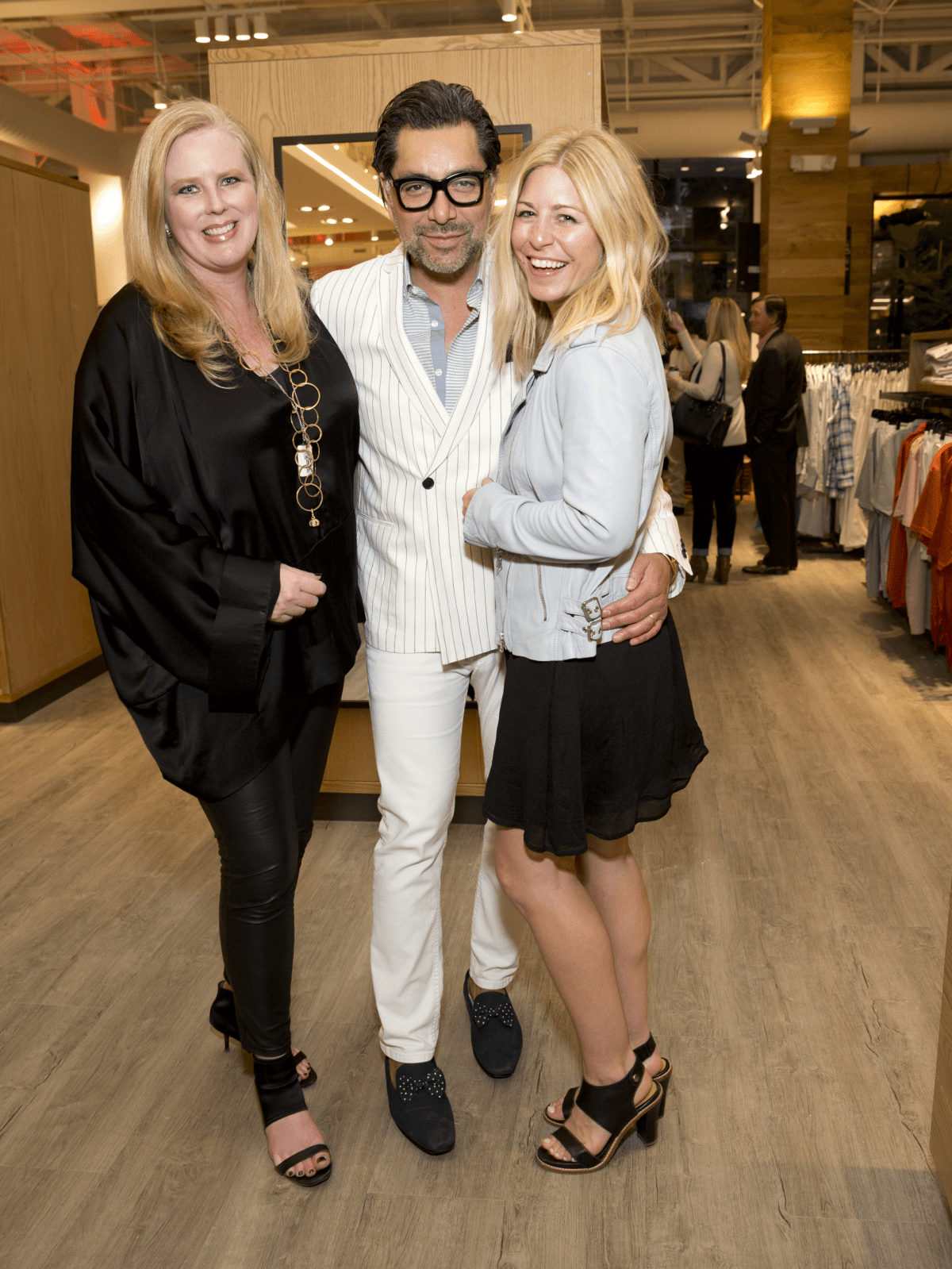 Houston, Saint Bernard opening party, April 2016, Suzanne Droese, Ceron, Ashleigh Goyer