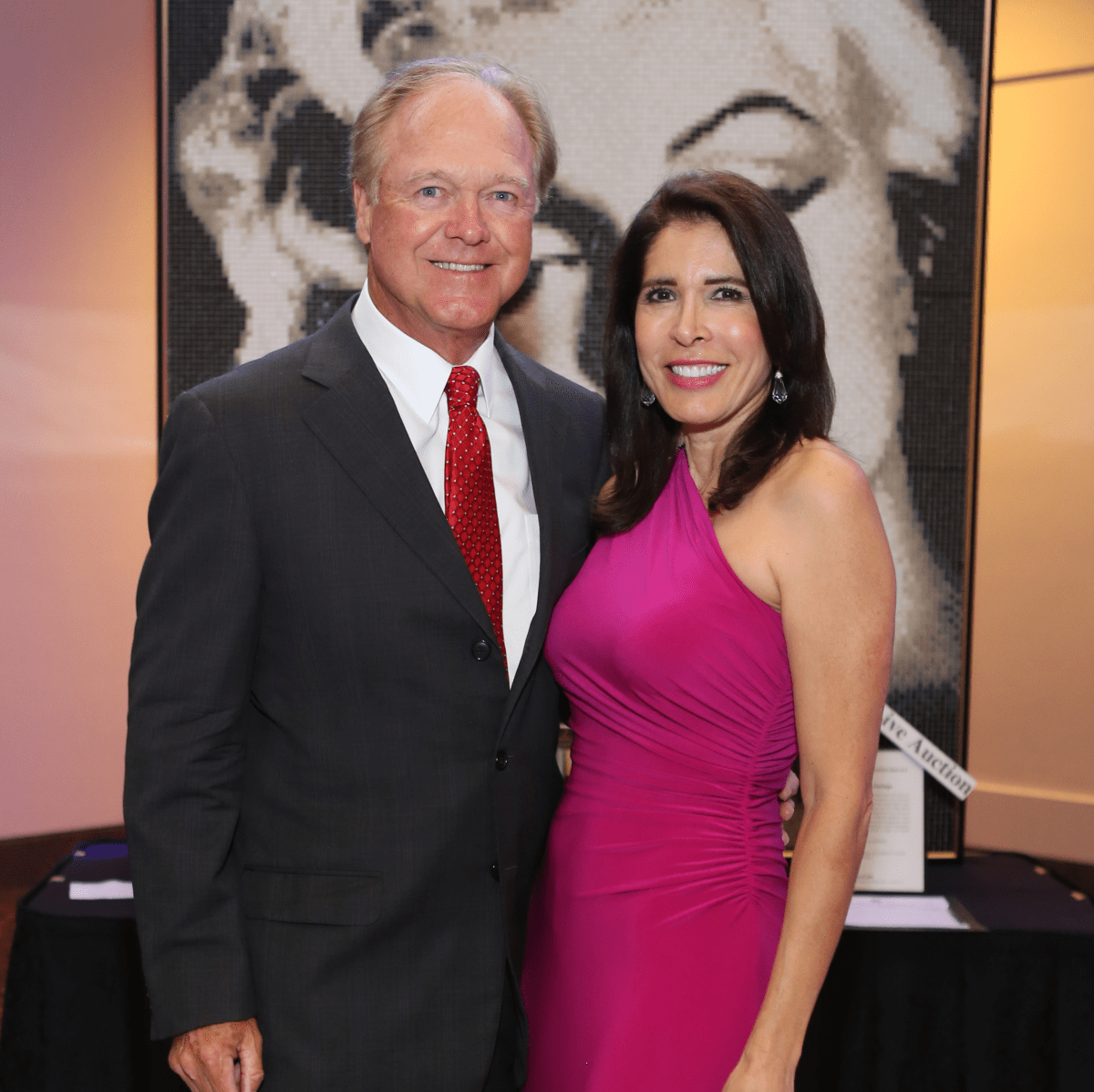 Blue Cure Gala, April 2016, Glenn Howard, Elizabeth Howard