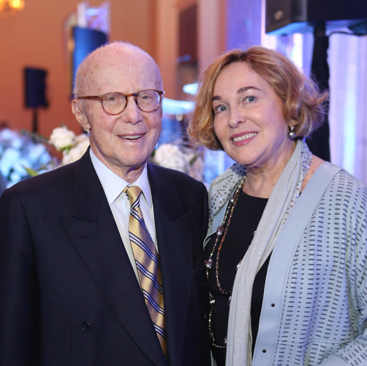 Blue Cure Gala, April 2016, Gerald Hines, Barbara Hines