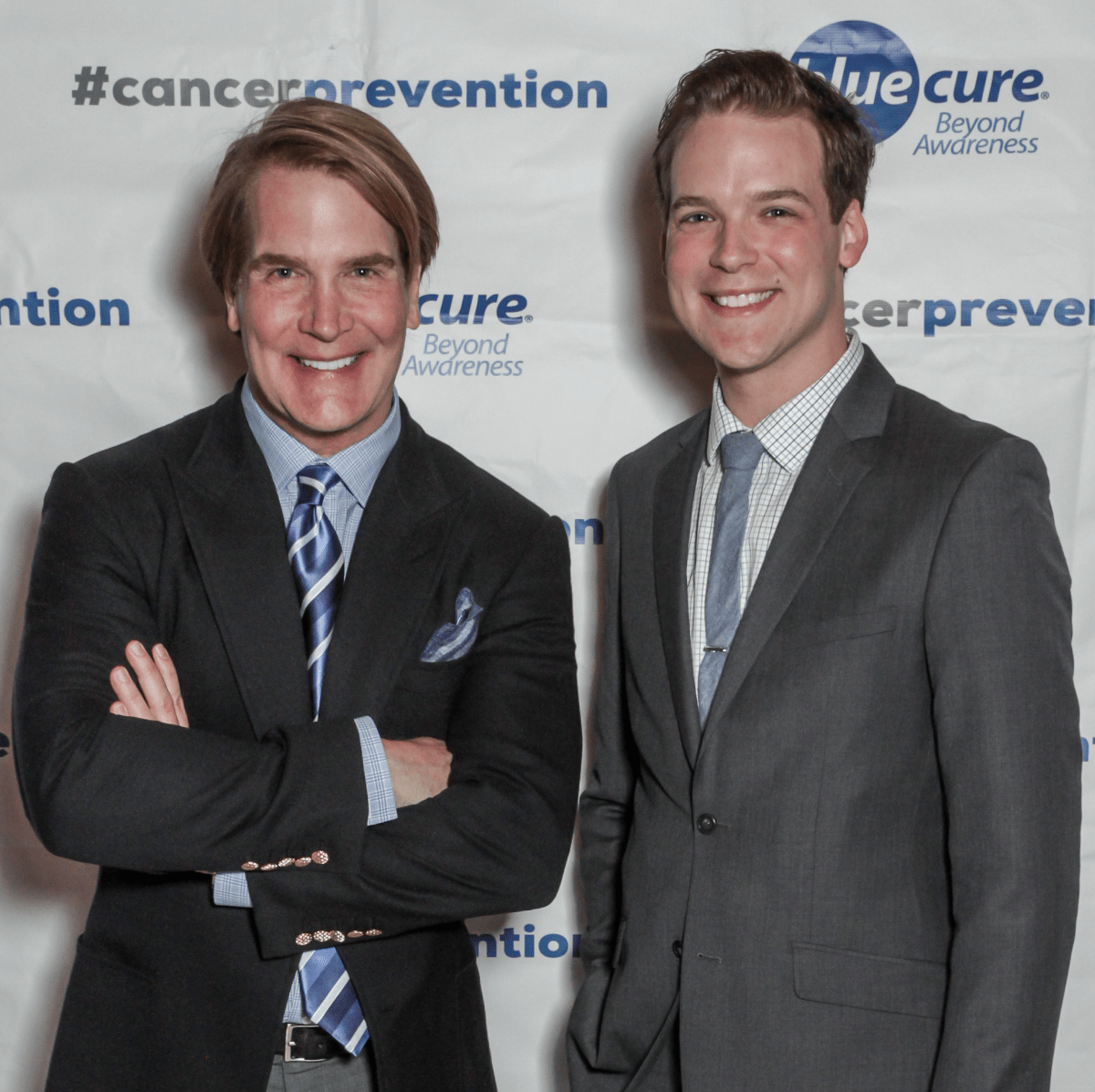 Blue Cure Gala, April 2016, George Lancaster, Sam Springer