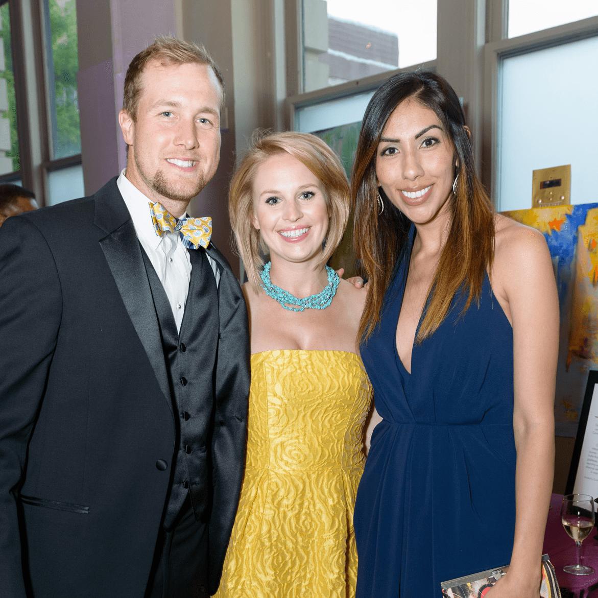 SPA, Gala April 2016, Cahal Mowery, Mallory Cheatham and Marcela Maxson