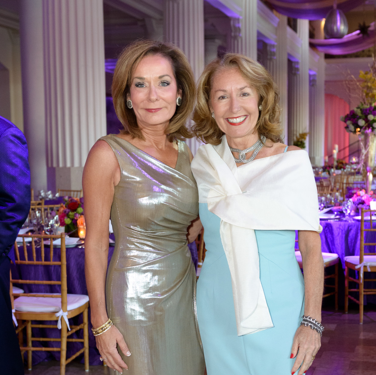 SPA, Gala April 2016, Melanie Gray, June Christensen