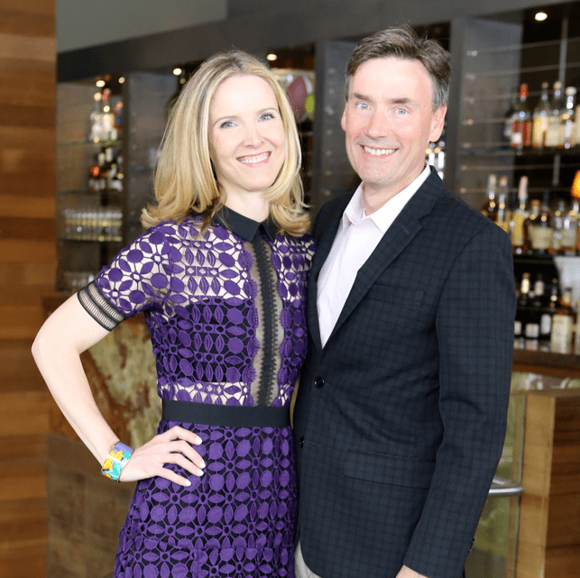 Houston Ballet Barre dinner, April 2016 Kristen McDaniel, Steve McDaniel