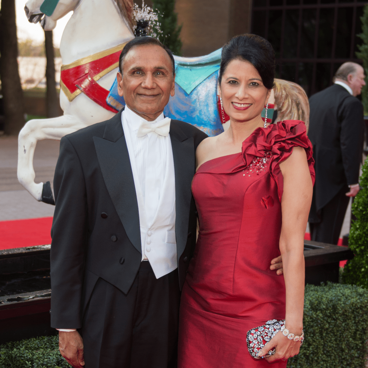 Houston Grand Opera Ball, 4/16 Suresh Khator, Renu Khator