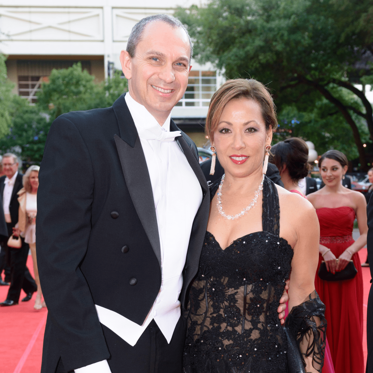 Houston Grand Opera Ball, April 2016 Kevin Mitchell, Pat Mitchell