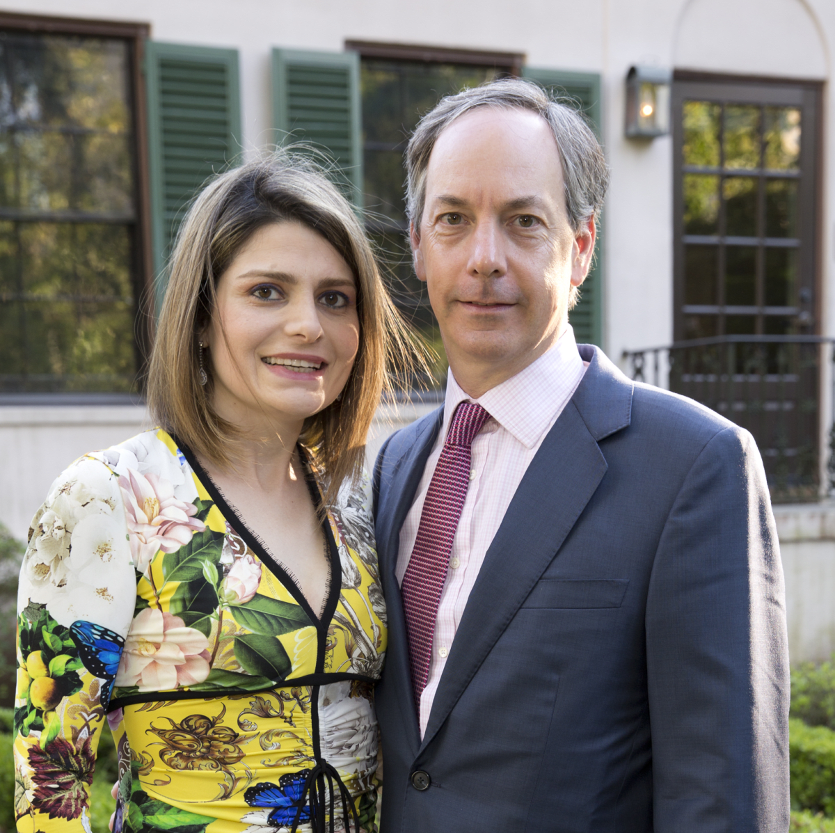 Bayou Bend Garden Party, April 2016, Mitra Margolis, Michael Margolis
