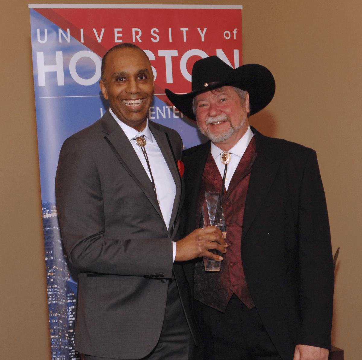 UH Law gala, April 2016, Dean Leonard Baynes, Jim Roach
