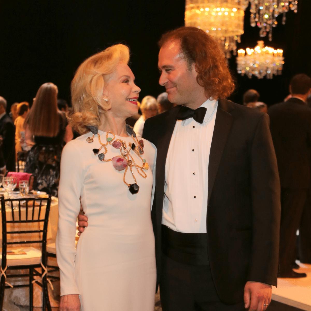 Mercury Gala, April 2016, Lynn Wyatt, Antoine Plante