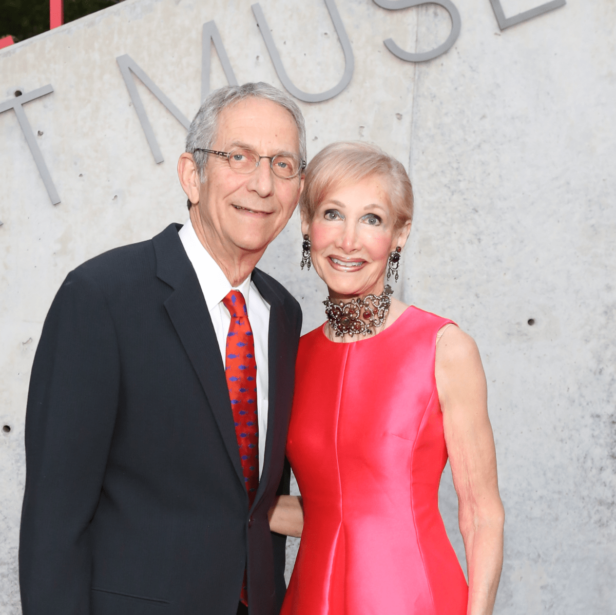 Blaffer Galleria Gala, April 2016, Harry Gendel, Diane Gendel