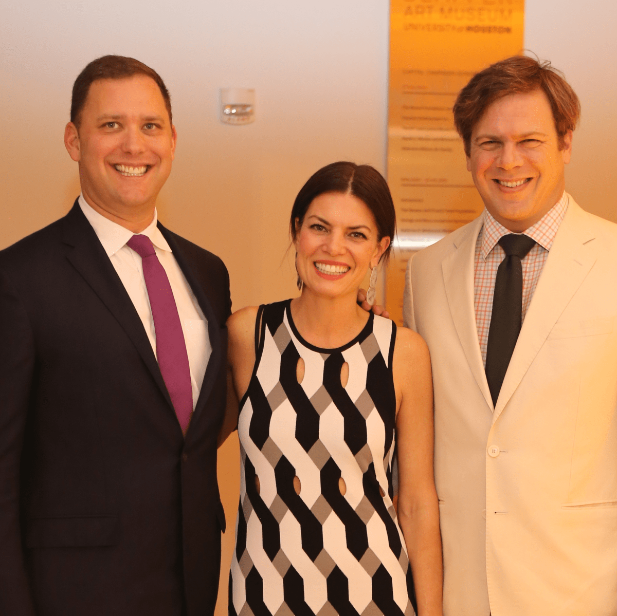 Blaffer Galleria Gala, April 2016, Ryan Gordon, Ashley Putnam, Steve Putnam