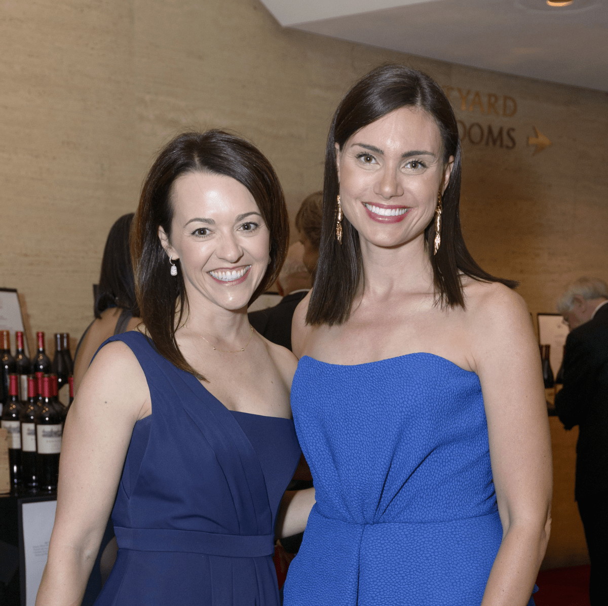 Symphony Wine Dinner, April 2016, Chelsea Pacey, Leslie Pitts