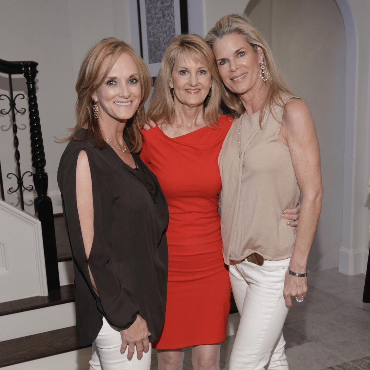 Kristin Reed, Karen Smith, Lezlie Noble