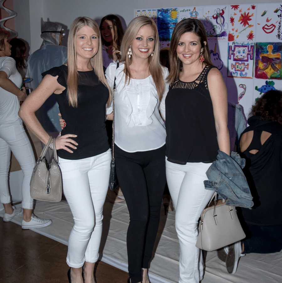Amanda Russell, Katie Norwood, Elizabeth Landry