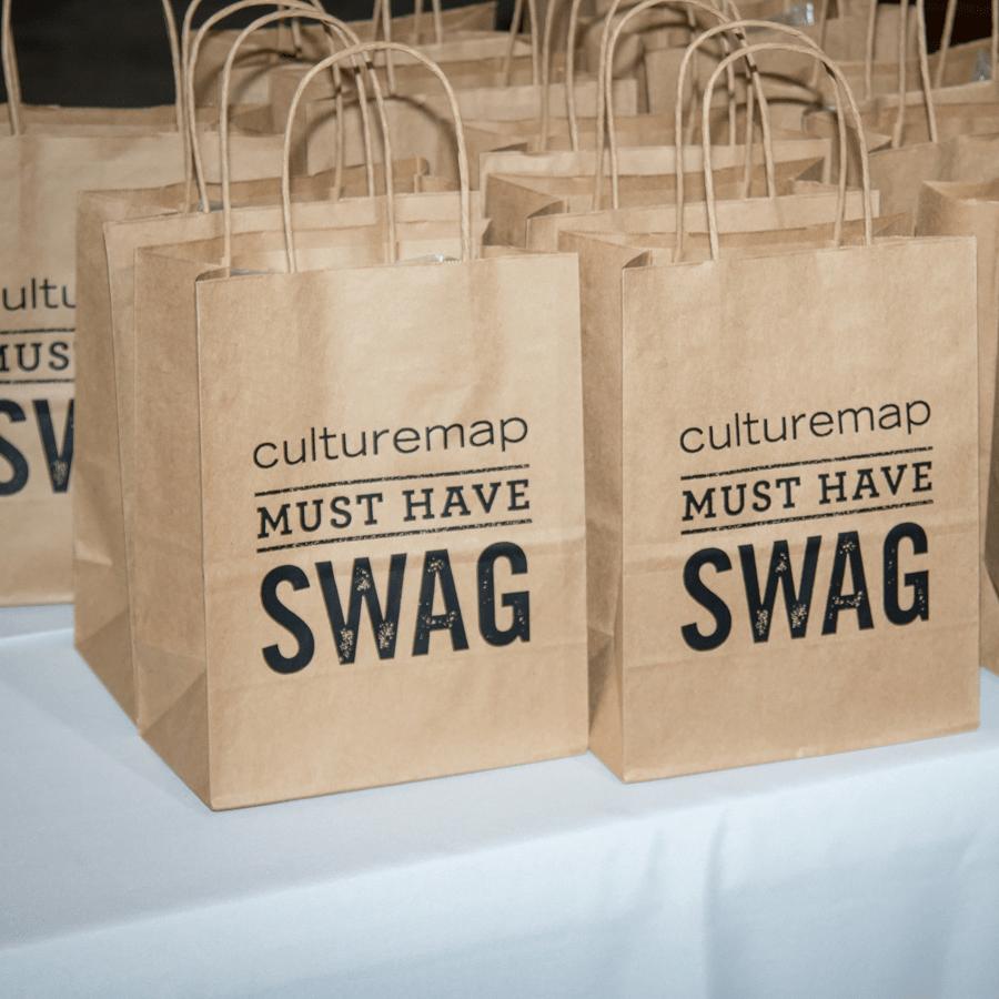 CultureMap Dallas Ultra Social swag bags