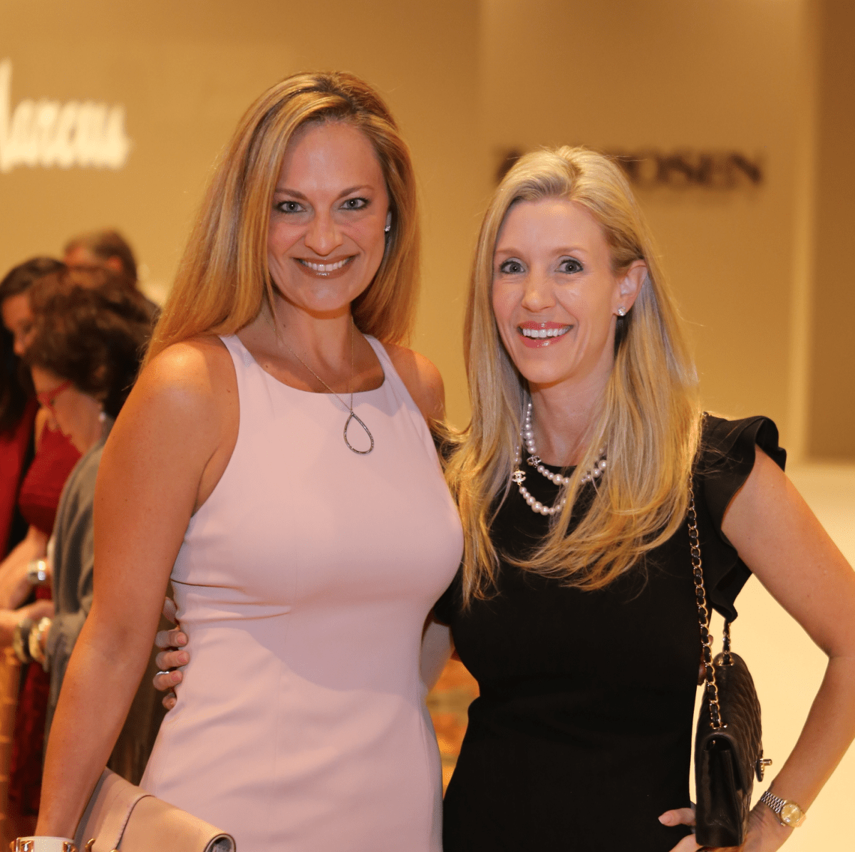 Best Dressed luncheon, March 2016, Rachel Regan, Michelle Smith