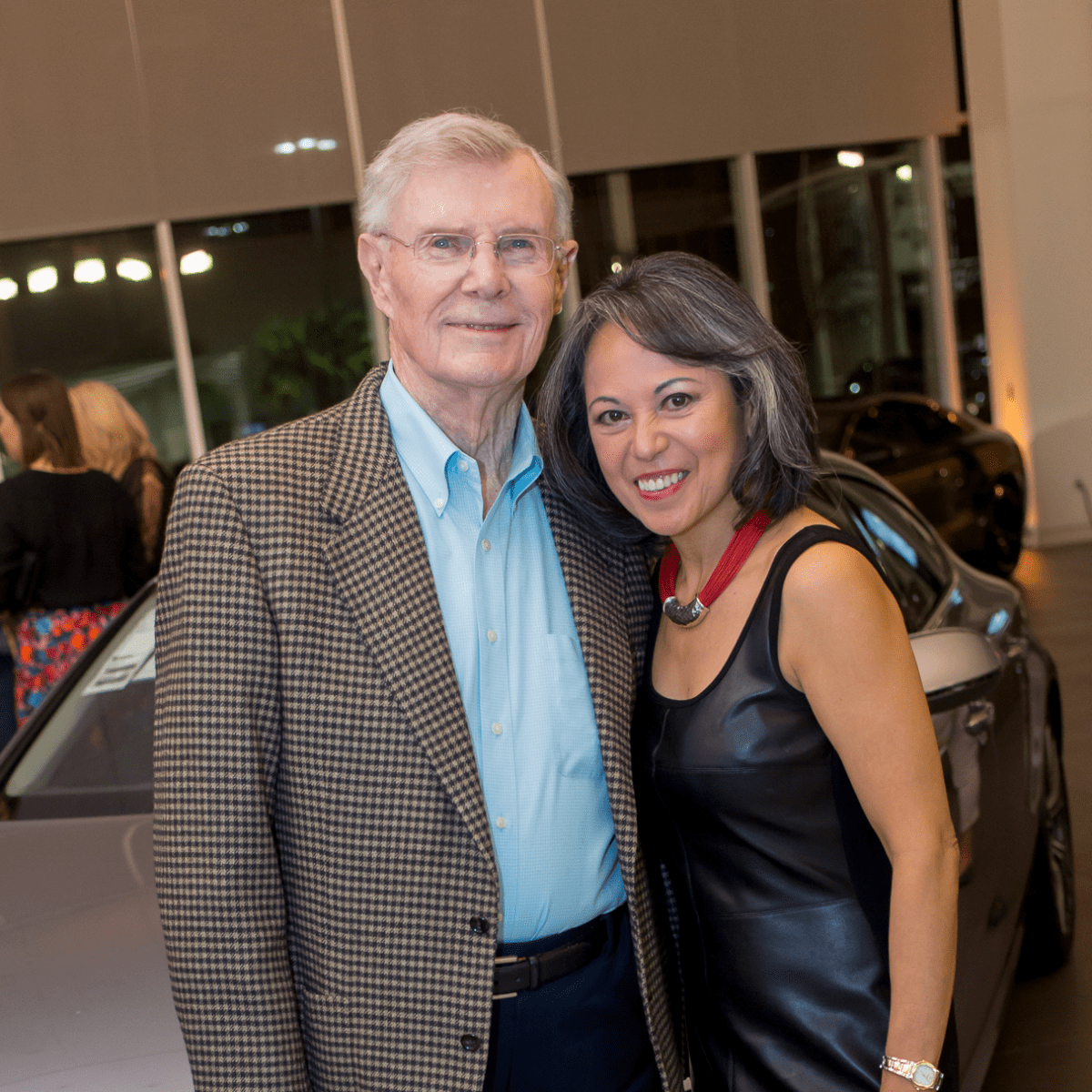 Cattle Baron's Fashion Show, March 2016,  Glenn Lewis, Raquel Lewis