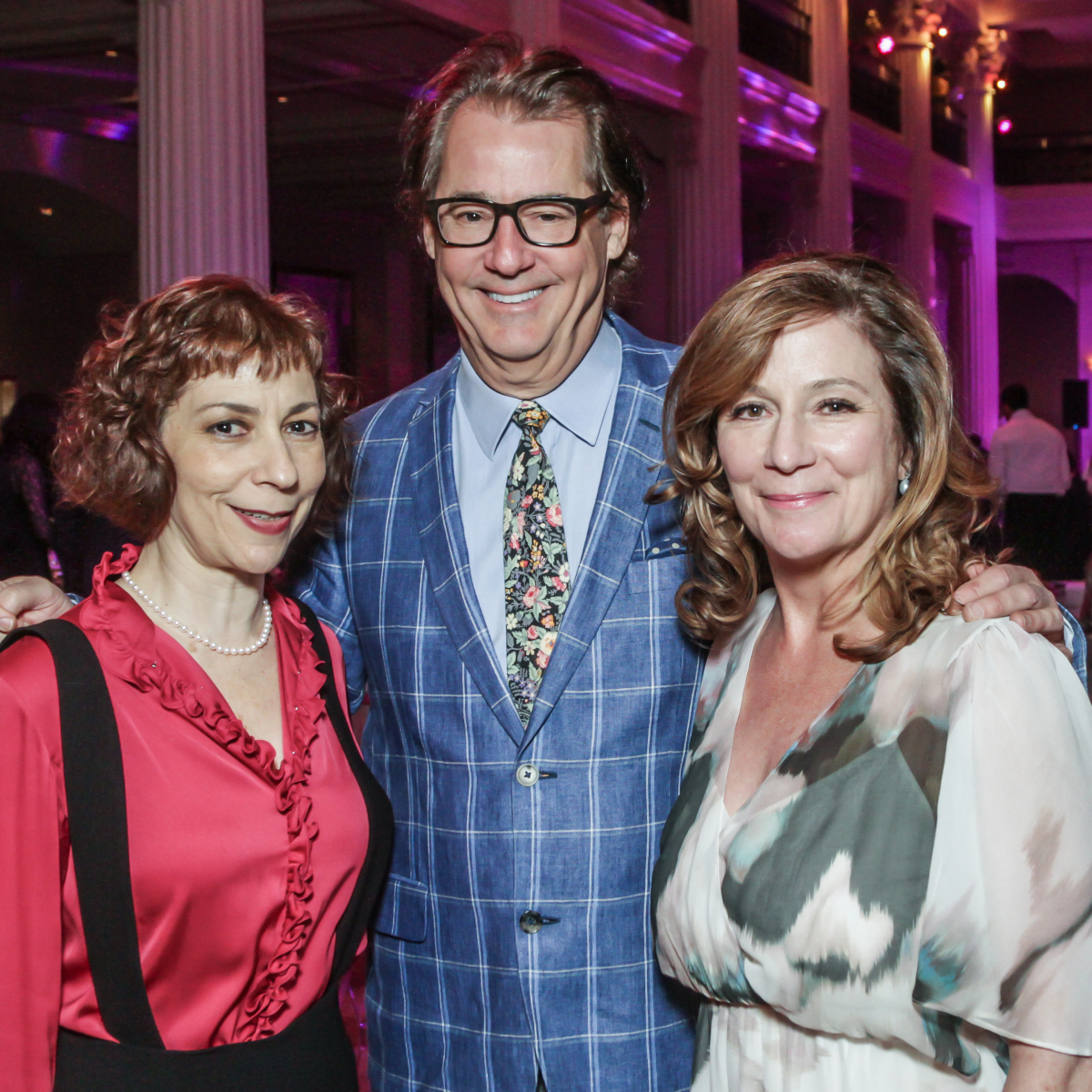 Sarah Rothernberg, Robert Del Grande, Carolyn Piro Landen at Club da Camera