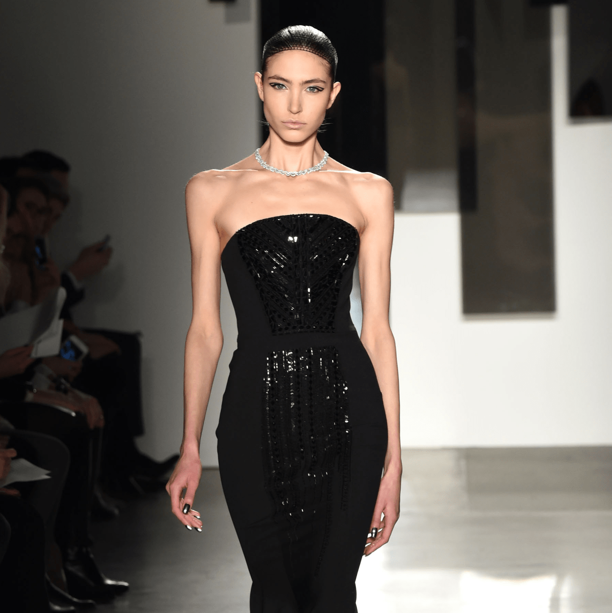 Pamella Roland fall 2016 gown