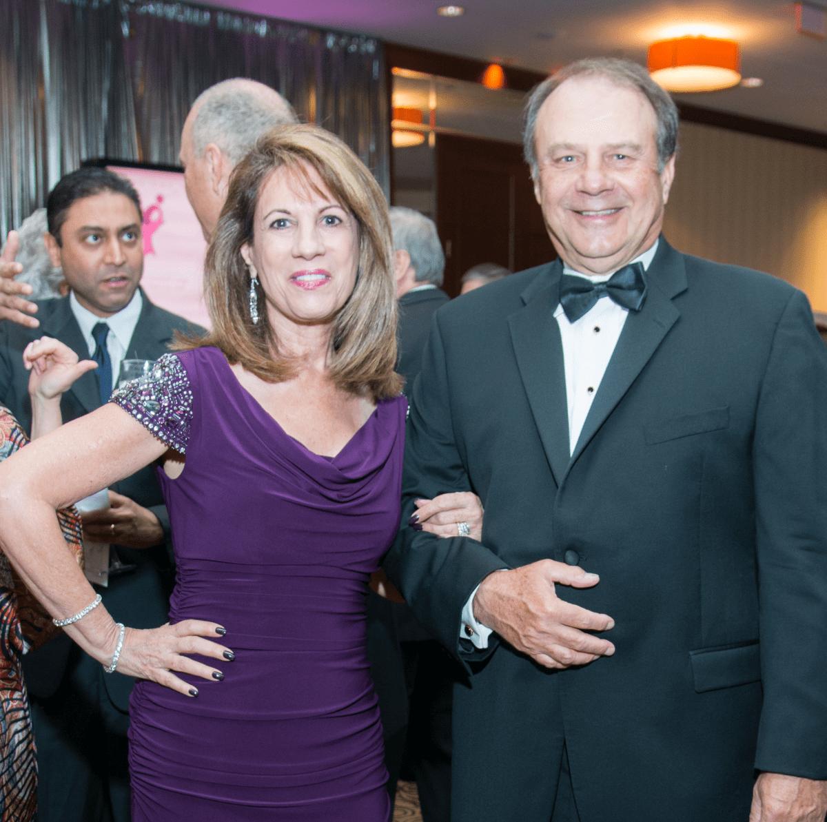 Komen Foundation 25th Gala, Feb. 2016, Jane Parker, Ed Parker
