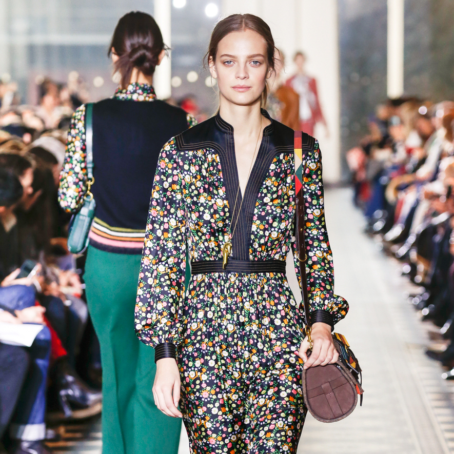 Tory Burch fall 2016 collection Look 26