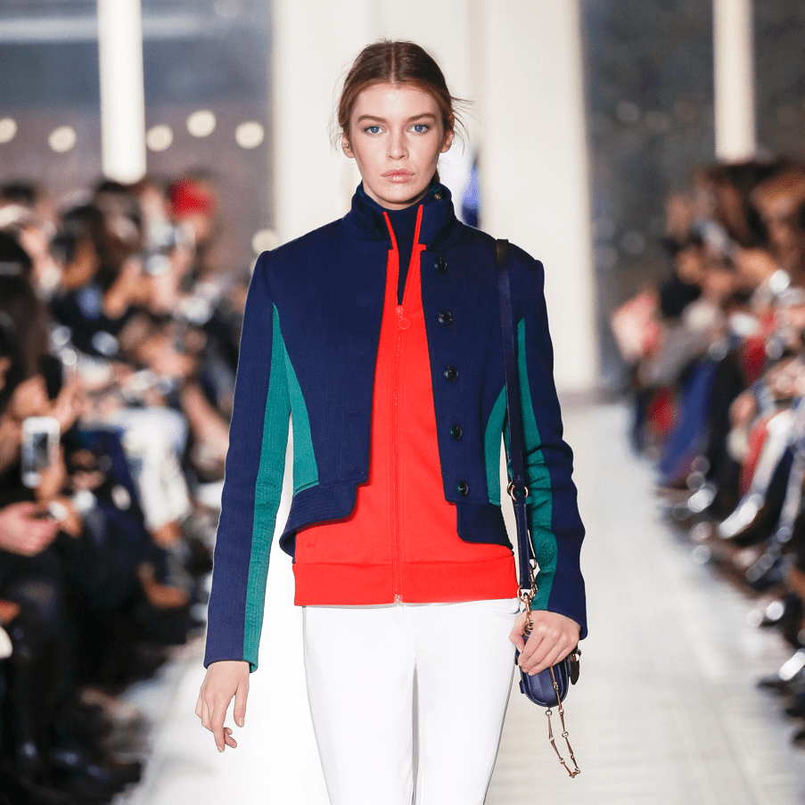 Tory Burch fall 2016 collection Look 2