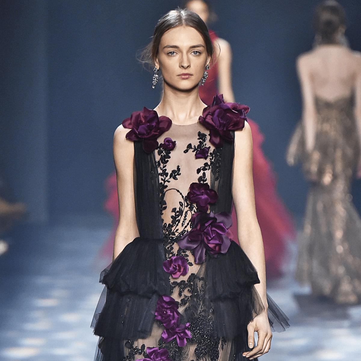 Marchesa fall 2016 runway show look 5