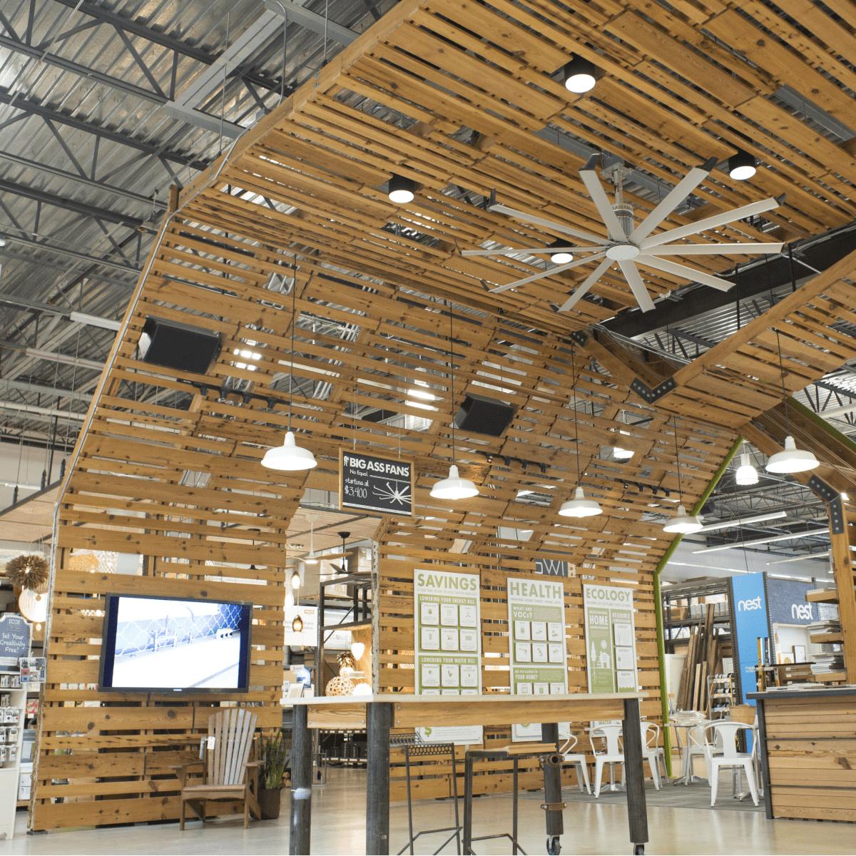 Treehouse Austin store interior