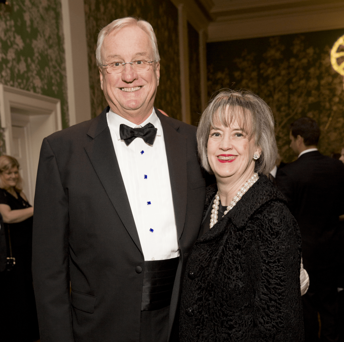Friends of Fondren Library, Feb. 2016, Mickey Ables, Dorothy Ables